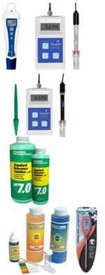 pH Meters & Solutions