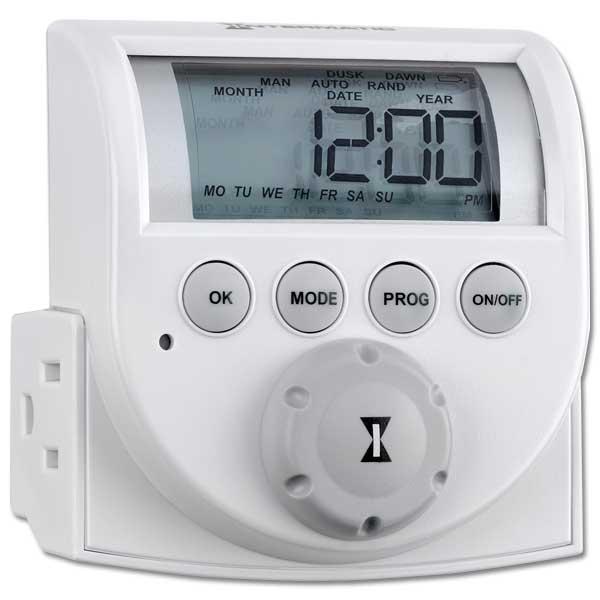 Intermatic Digital Timer 120v 2 Outlet
