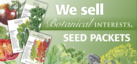 We sell Botanitcal Intrests seed packets