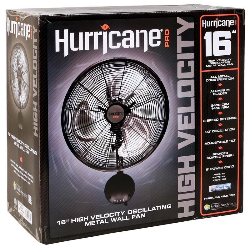 Hurricane Pro High Velocity Oscillating Metal Wall Mount